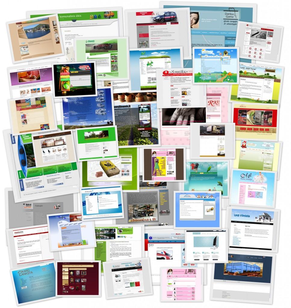 Kaip sukurti interneto svetainę? www.87.lt