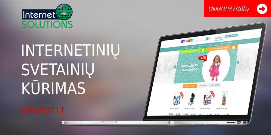 Profesionalus Internetinių Svetainių Kūrimas … Prisitaikantis dizainas – tai svetainės pritaikymas skirtingų dydžių (rezoliucijų) ekranams www.87.lt