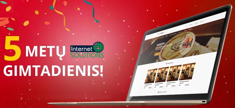 Šiandien mums jau 5 metukai ir daugiau nei 500 sukurtų svetainių! plačiau www.87.lt