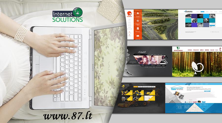 Mes kuriame svetaines, kurios kiekviename žingsnyje lankytoją skatina atlikti jūsų verslui naudingus ir link pardavimo vedančius veiksmus www.87.lt
