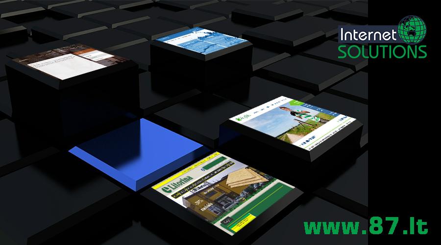 Interneto svetainių kūrimas, interneto sprendimai, projektai, jų vystymas, integravimas, diegimas ir palaikymas. +370610 49 600